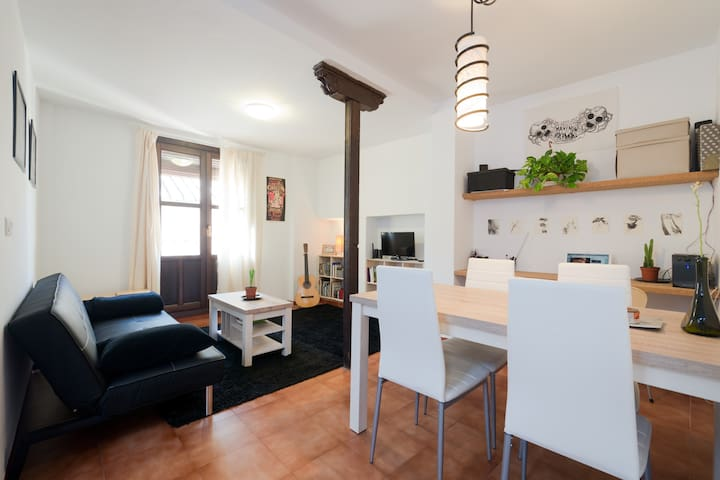 Habitación individual céntrica con baño privado - Granada - Apartament