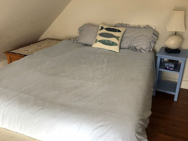 Queen bed in Bedroom 4 (upstairs loft)