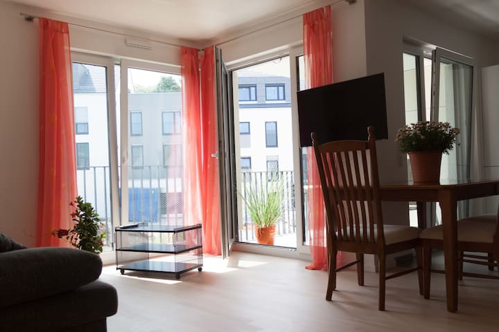 A brand new, furnished apartment in Leinfelden