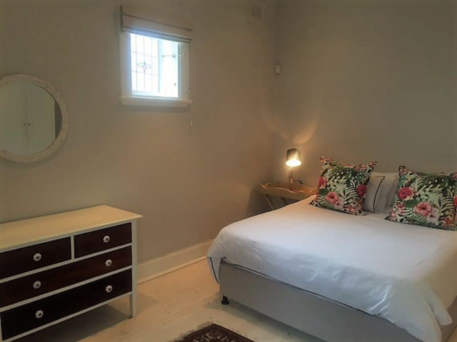 Main bedroom with A/C