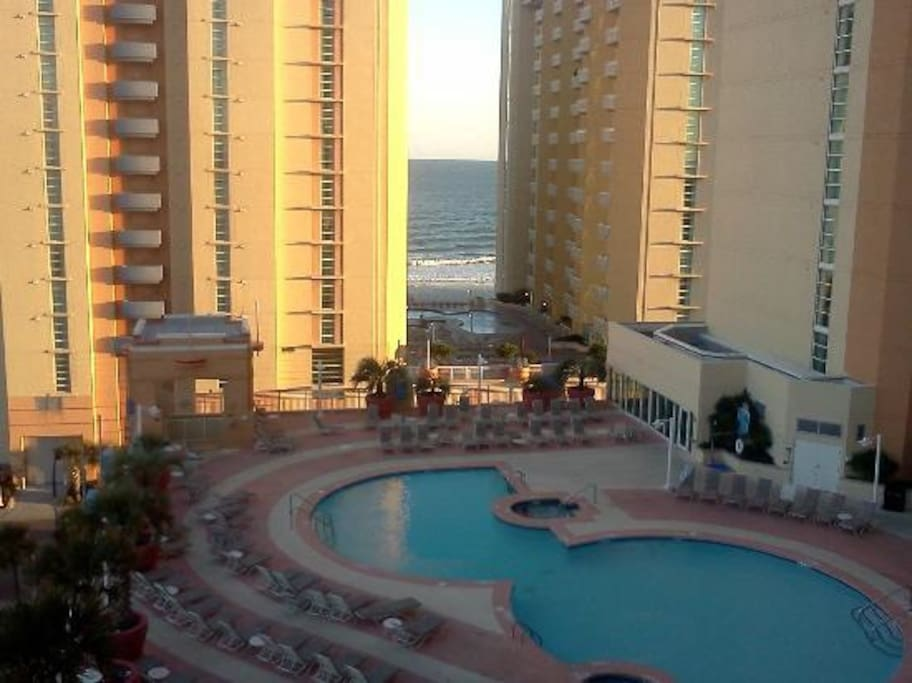 Wyndham Ocean Blvd 2 Bedroom Deluxe Timeshares For Rent In North Myrtle Beach South Carolina