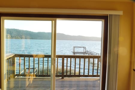 Overlooking clearlake from the living room - Lakás