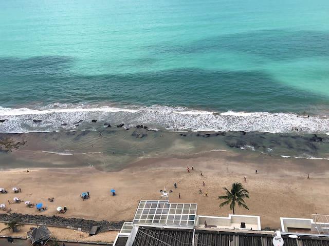 Vista incrível do Boa Viagem Flat 16