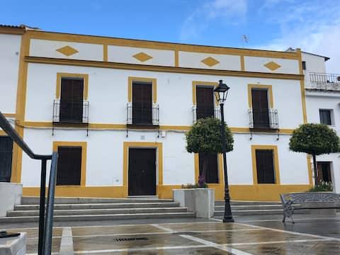 Gran casa en Almodóvar del Río. Vistas al Castillo