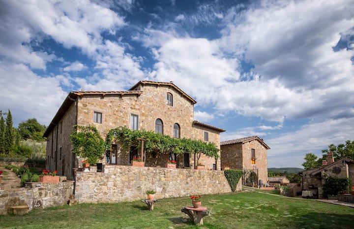 Luxury Villa at Panzano in Chianti