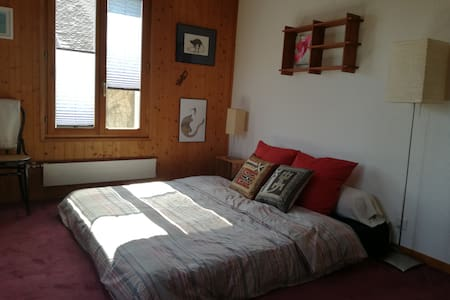 Cozy room with Alp view amidst the vineyards - Vinzel - 公寓
