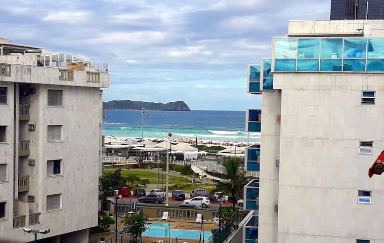 Apto com vista para o mar (Limpeza & Conforto) - Cabo Frio - Apartamento