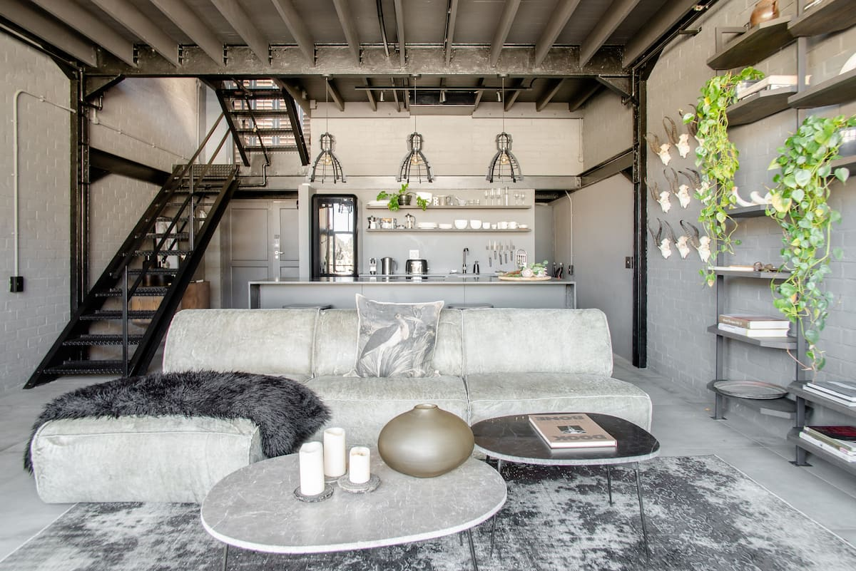 Combine Industrial Luxury with an Earthy African Heartbeat
