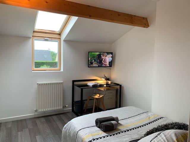 Chambre double tout confort à Sainte Luce