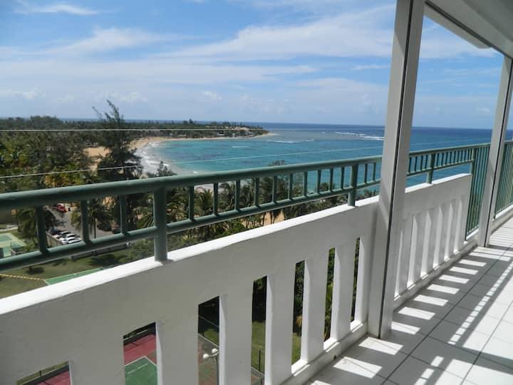 Open air, Sunny Beach Front Puerto Rico Getaway