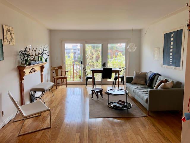 Sun Lit Gem Artist Apartment
