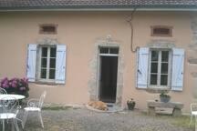 L'entrée de notre maison