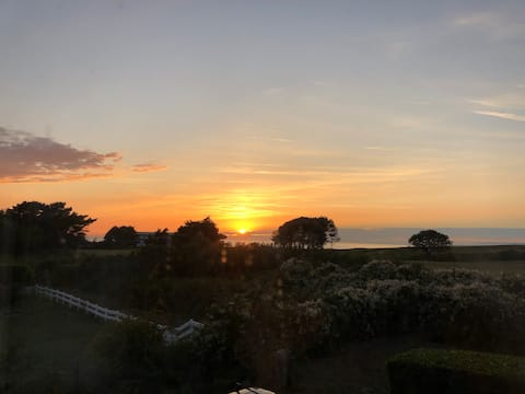 West View at Sunset over St Ouens Bay