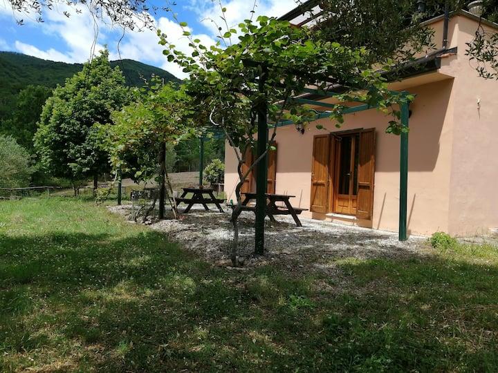 Appartamento piano terra, relax, natura e confort