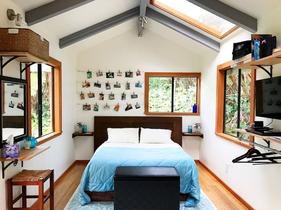A perfect tiny house in the rainforest - what else could you possibly need?