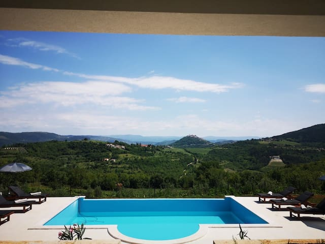 Motovun View Villa, 15.09-20.09 20% OFF
