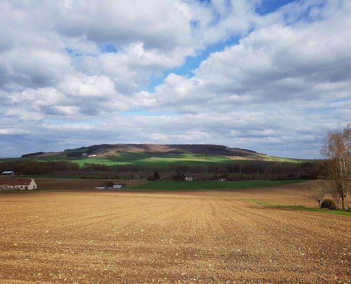 Maison avec vue en Bourgogne