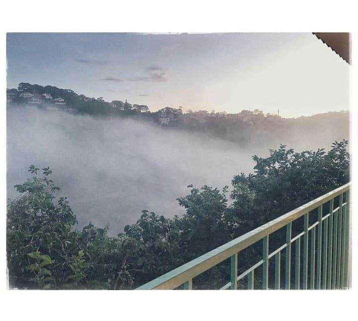Hillside Homestay DaLat - cloud hunting view