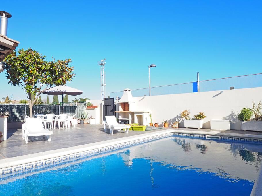 Airbnb Villa Piscine Espagne