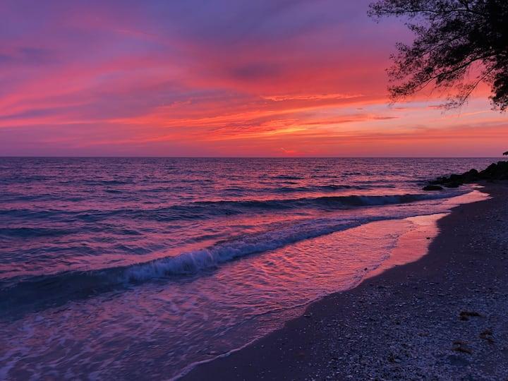 Tropical paradise. Private Beach access.