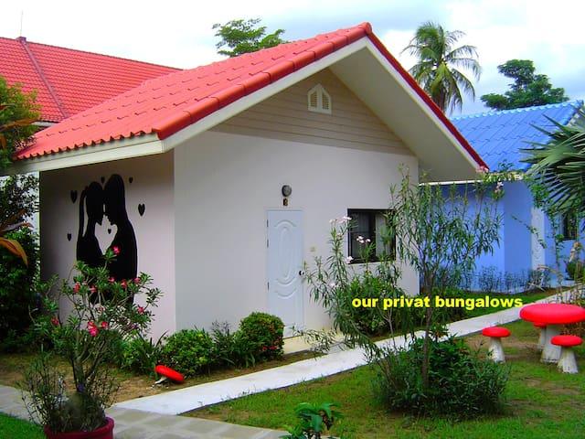 Bungalow De luxe at the Mini golf & resort ubon