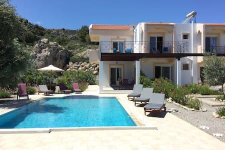 Luxury villa - large private pool - Afantou