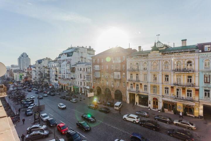 Квартира с красивым балконом