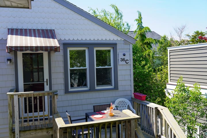 Private Rehoboth Apartment just 1 block to beach!