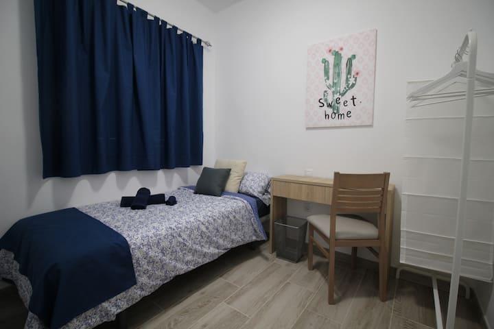 Habitación individual en Tenerife Urban Rooms