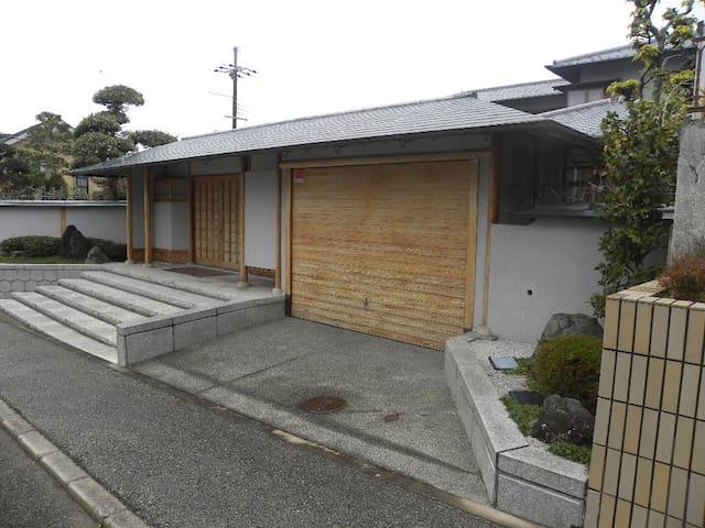 Traditional japanese house near osaka,kobe,kyoto