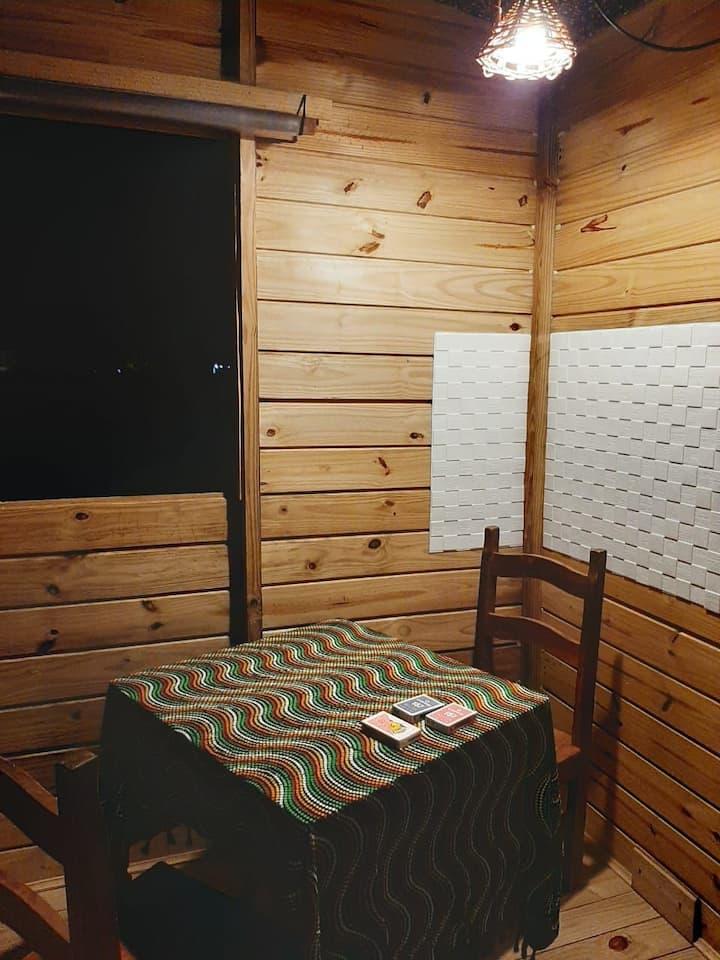 Tiny House para hospedar casais aventureiros.