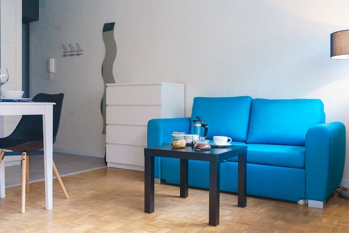 Blue Apartment - Breslau