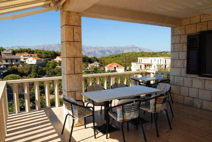 """Green"" Studio Apartment on Brac - Povlja - Leilighet"