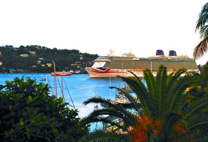 Ocean View Garden Villa