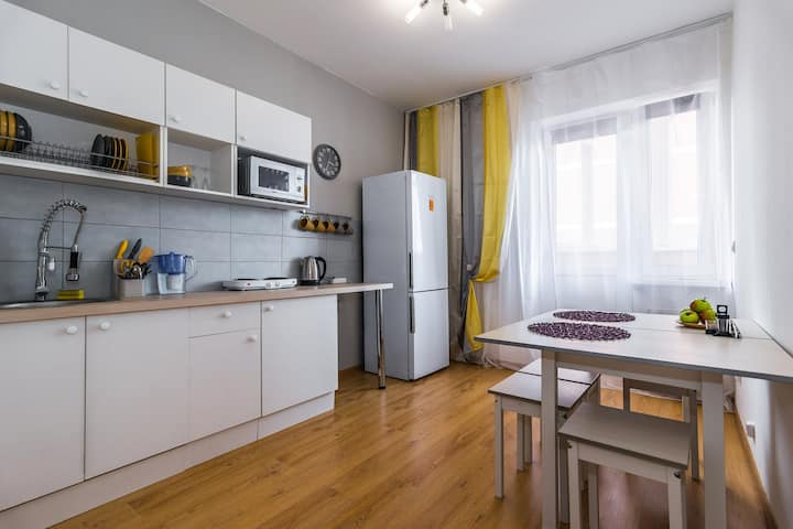 2-к. квартира, Krasnodar центр, около ККБ1