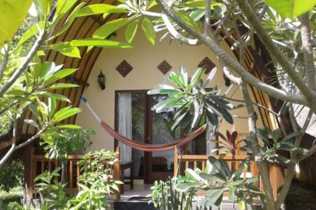 Air Conditioning or Fan Bungalow with private open-air bathroom
