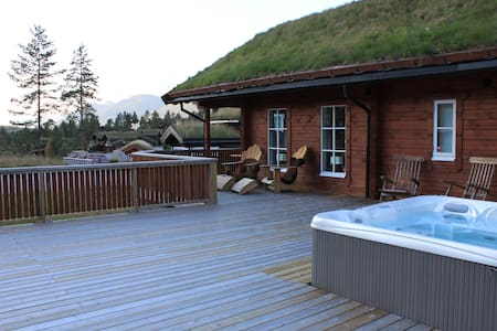 High stand. cabin - ski/alpine/hiking/biking/golf - Kviteseid - Hytte