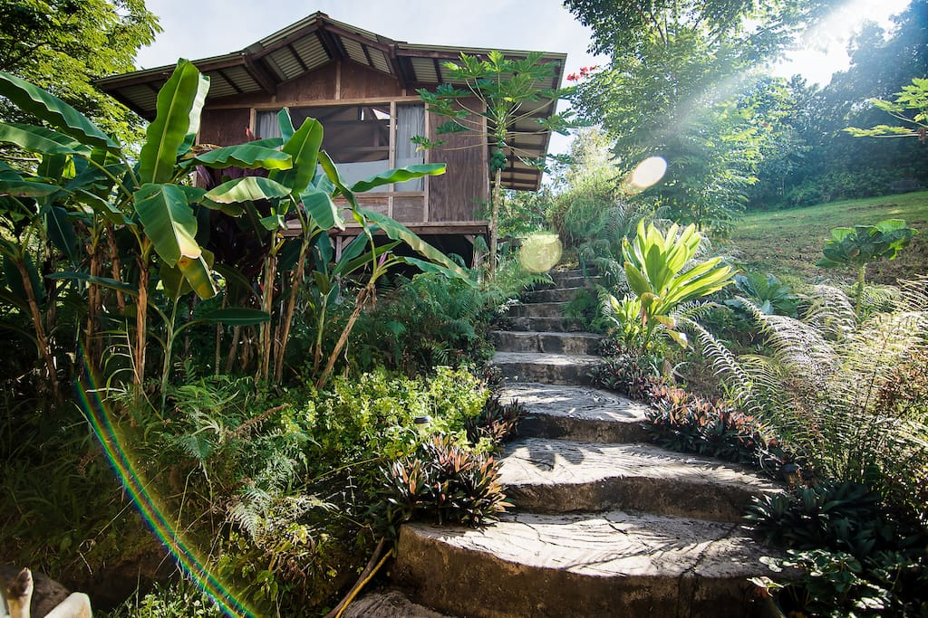 Stairway to Teahouse Cottage
