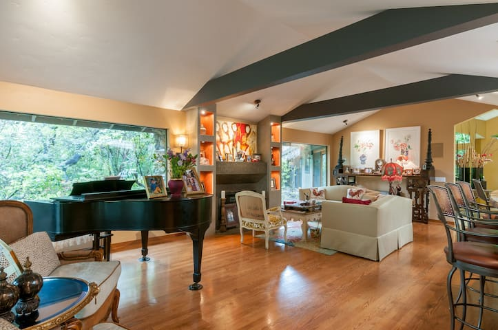 Hilltop sunny family villa in Los Altos Hill - Los Altos Hills - Vila