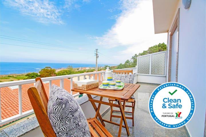 Vila Lucia - Moradia com vista para o mar