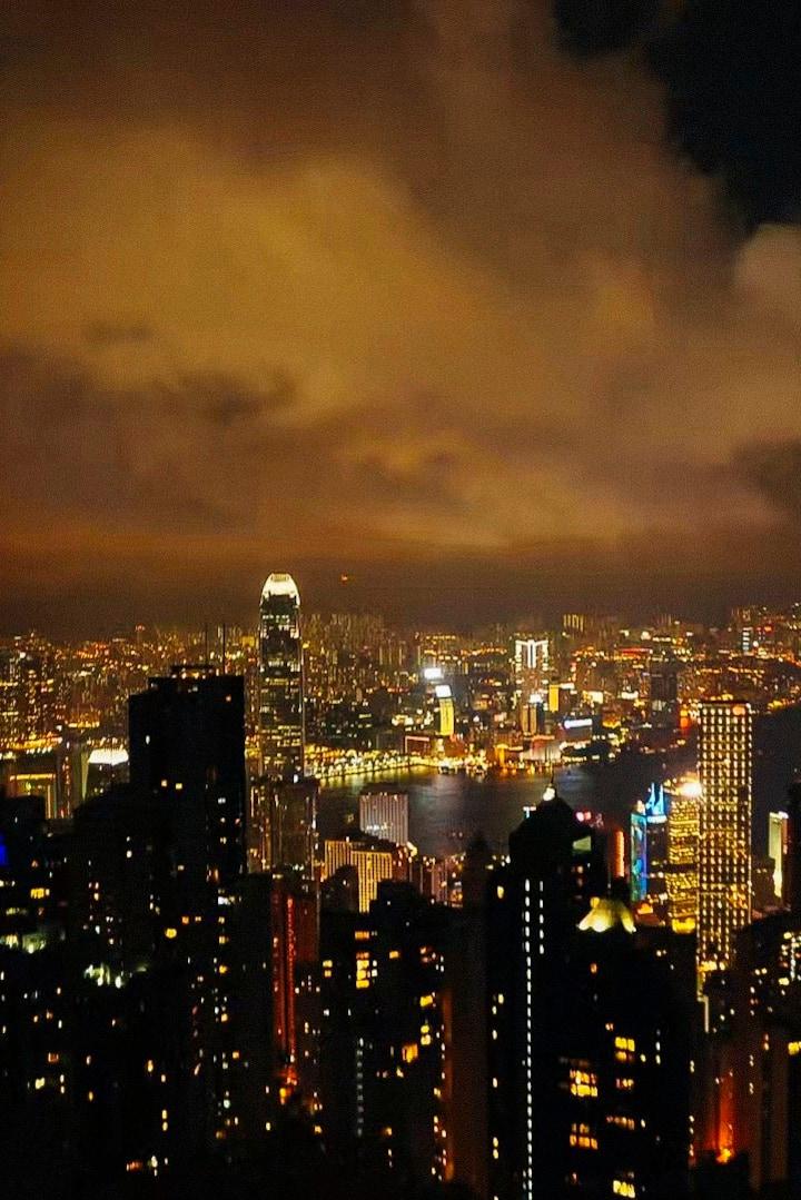 太平山夜景