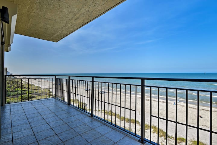 Oceanfront Condo w/Pool - Walk to Flagler Ave