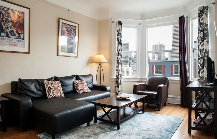 Lovely Telegraph Hill 2 / 3br. available monthly