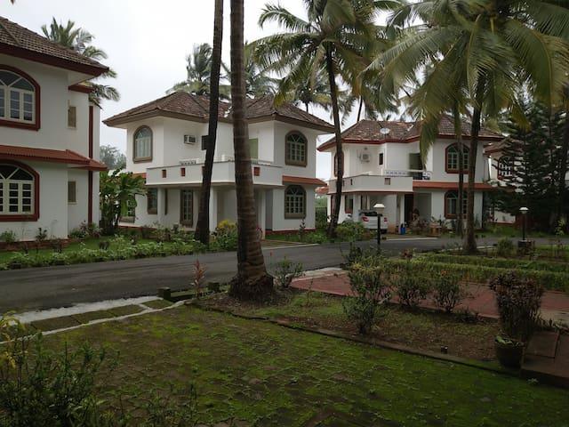 2-Bedroom Beachfront Villa at Betalbatim
