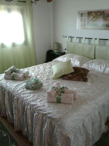 B&B Ba.Lu'. Camera Matrimoniale verde - Guspini - Bed & Breakfast