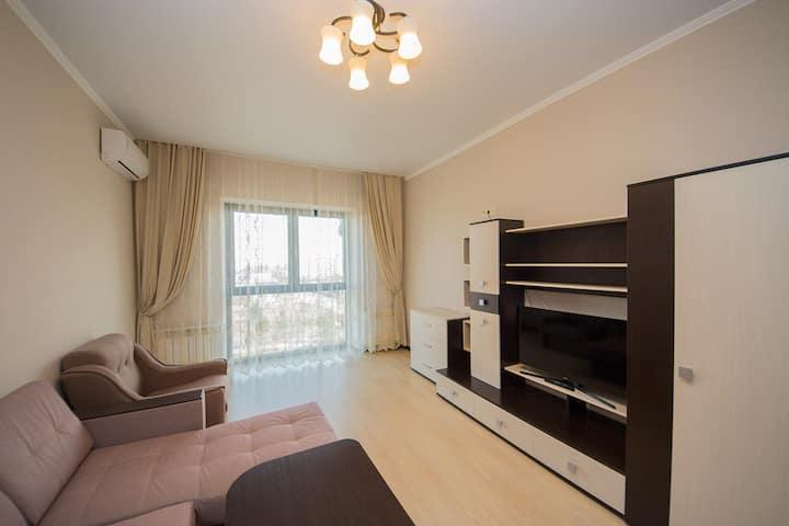 Однокомнатная квартира на берегу Черного моря