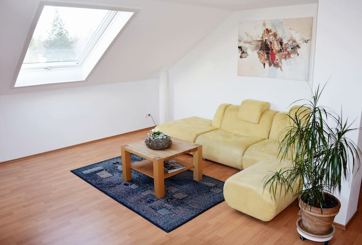 quiet & comfy 100 m² Flat near Frankfurt Airport