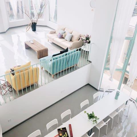 『一见·里 First Sight|家庭房|整栋团购』海景别墅/阳光沙滩/交通便利/长隆渔女日月贝