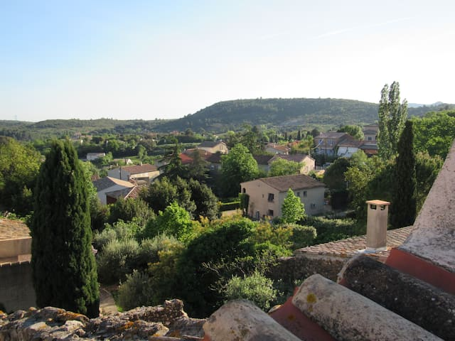 Maison de village dans la campagne Héraultaise