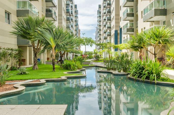 Apartamento  Beira Mar - Praia de Jatiúca - JTR
